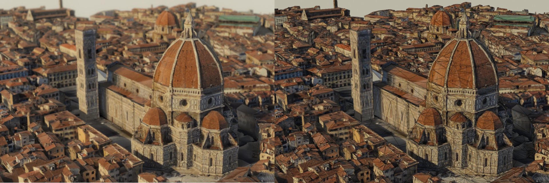 San Maria del Fiore imported from Google Maps