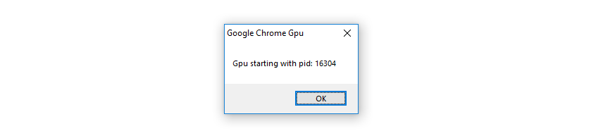 Chrome GPU Popup